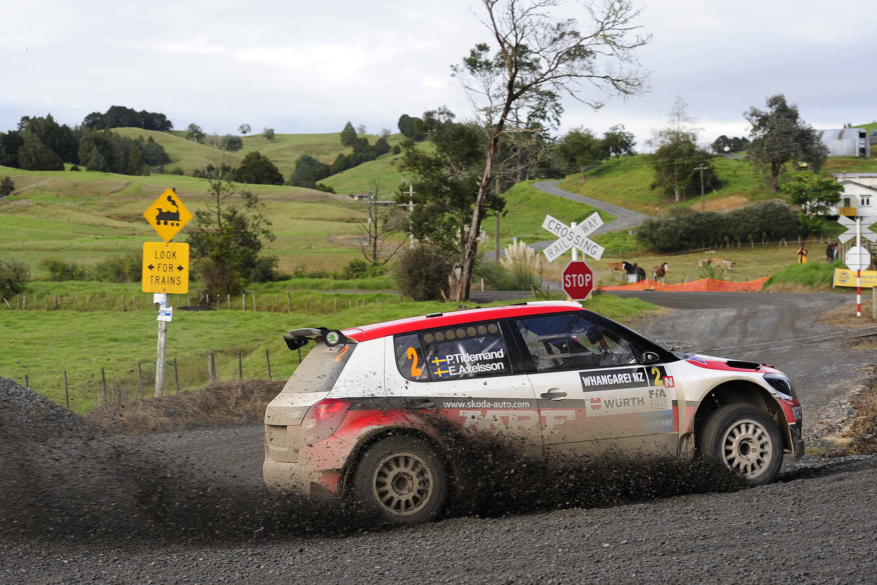 Challenge propels Swedish rally star to front of International Rally of Whangarei
