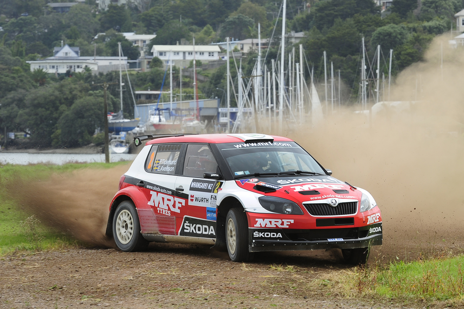 Tidemand breaks sub-minute barrier at International Rally of Whangarei shakedown