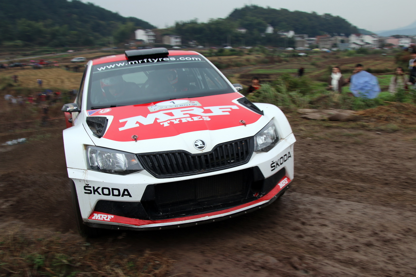 Two car SKODA Motorsport Team for International Rally Whangarei