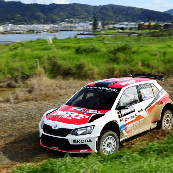 Gaurav Gill at International Rally of Whangarei