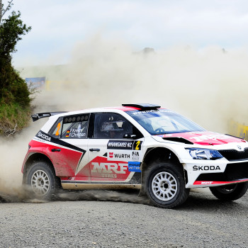 Fabian Kreim at International Rally of Whangarei