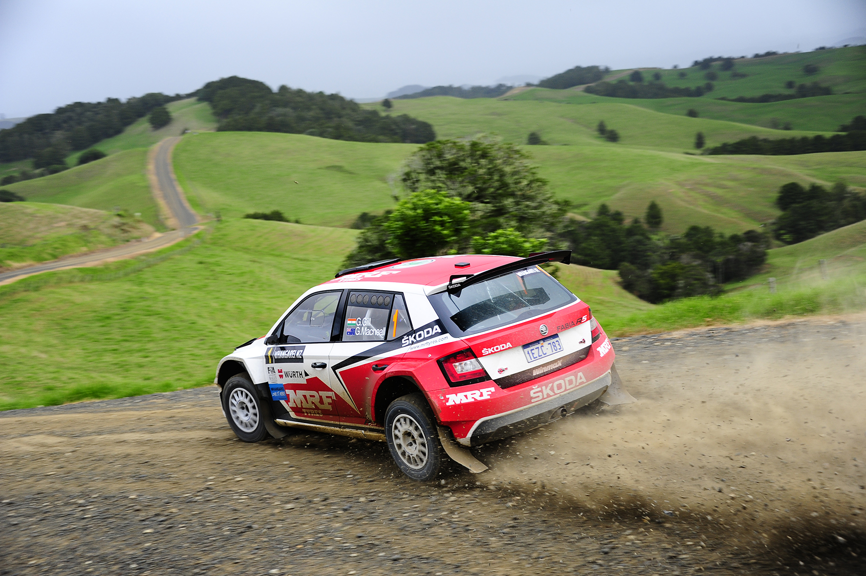 Gaurav Gill wins International Rally of Whangarei