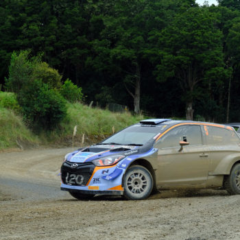 Hayden Paddon wins - Photo by Geoff Ridder