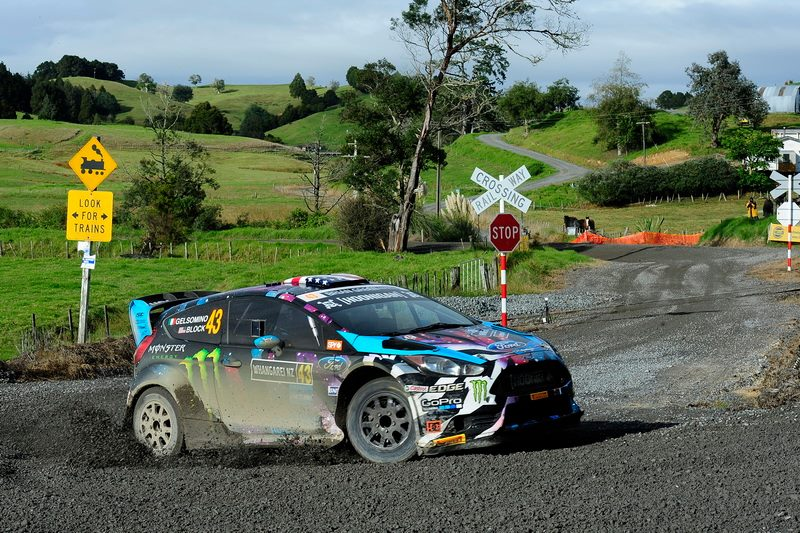 Block announces Rally Whangarei on 'Cossie World Tour'