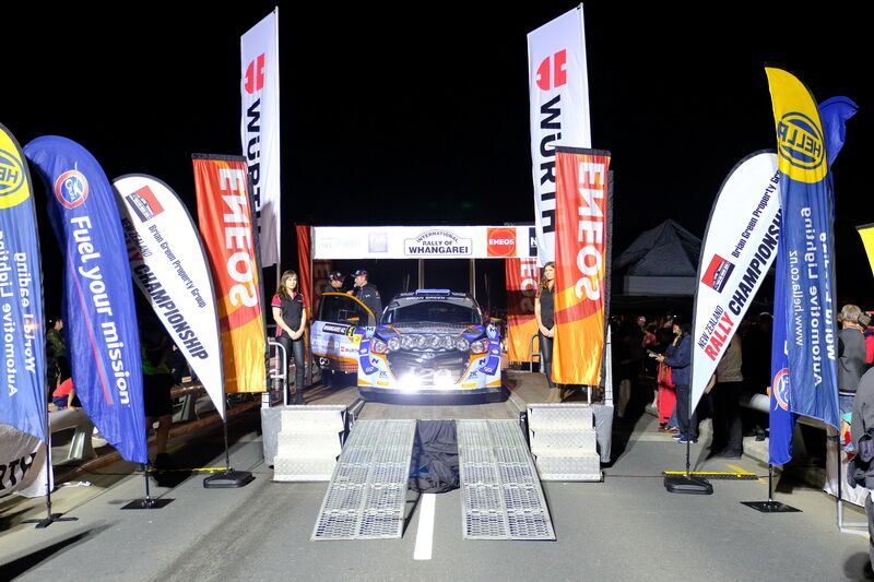 ENEOS supporting the 2019 International Rally of Whangarei