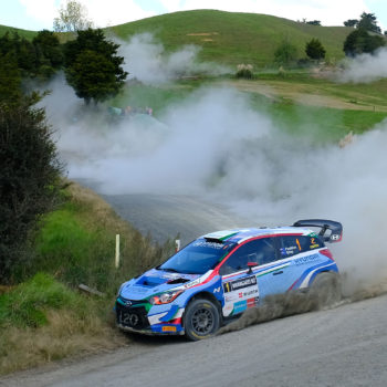 Hayden Paddon - Geoff Ridder photo