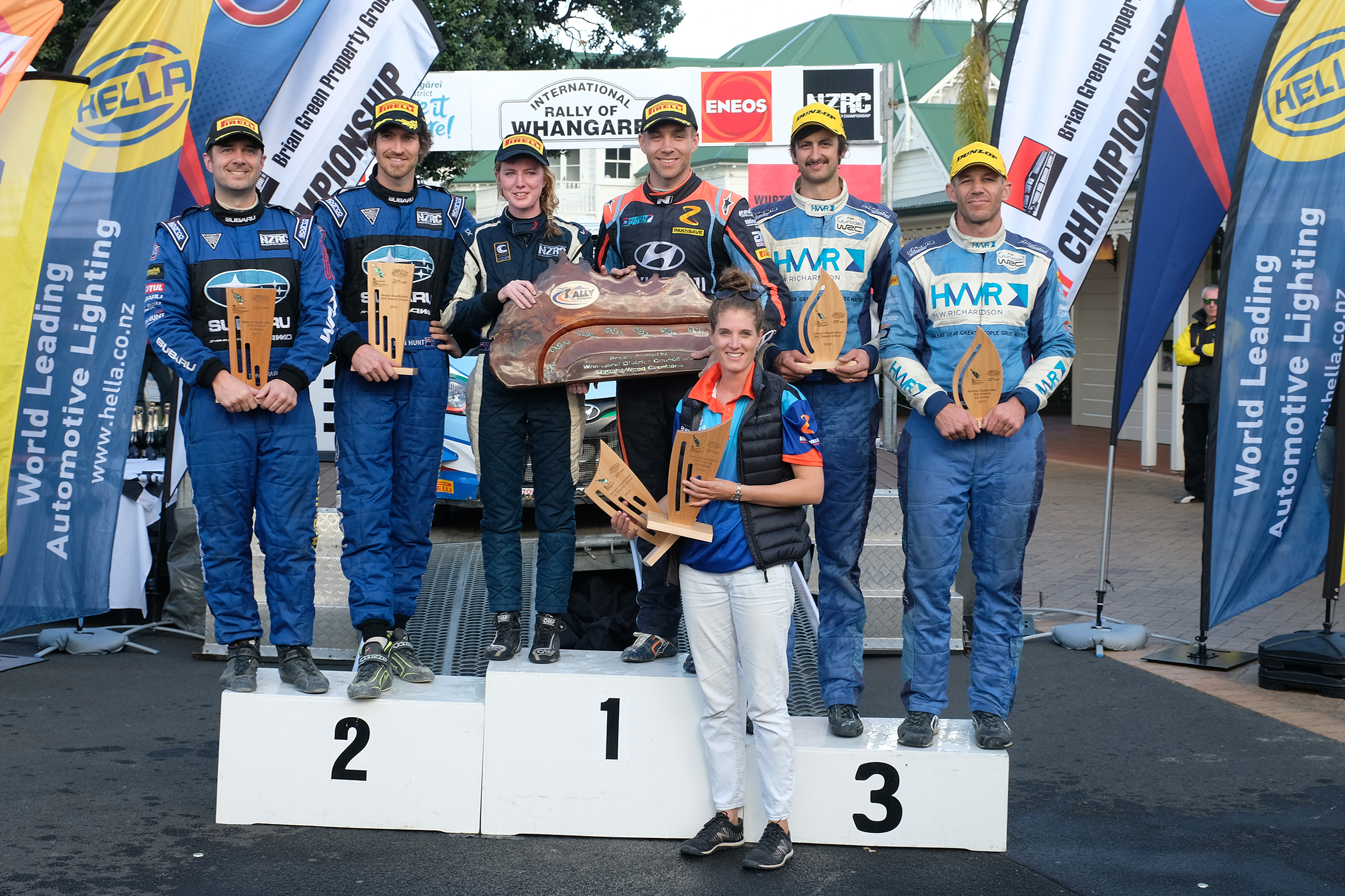 Paddon wins International Rally of Whangarei