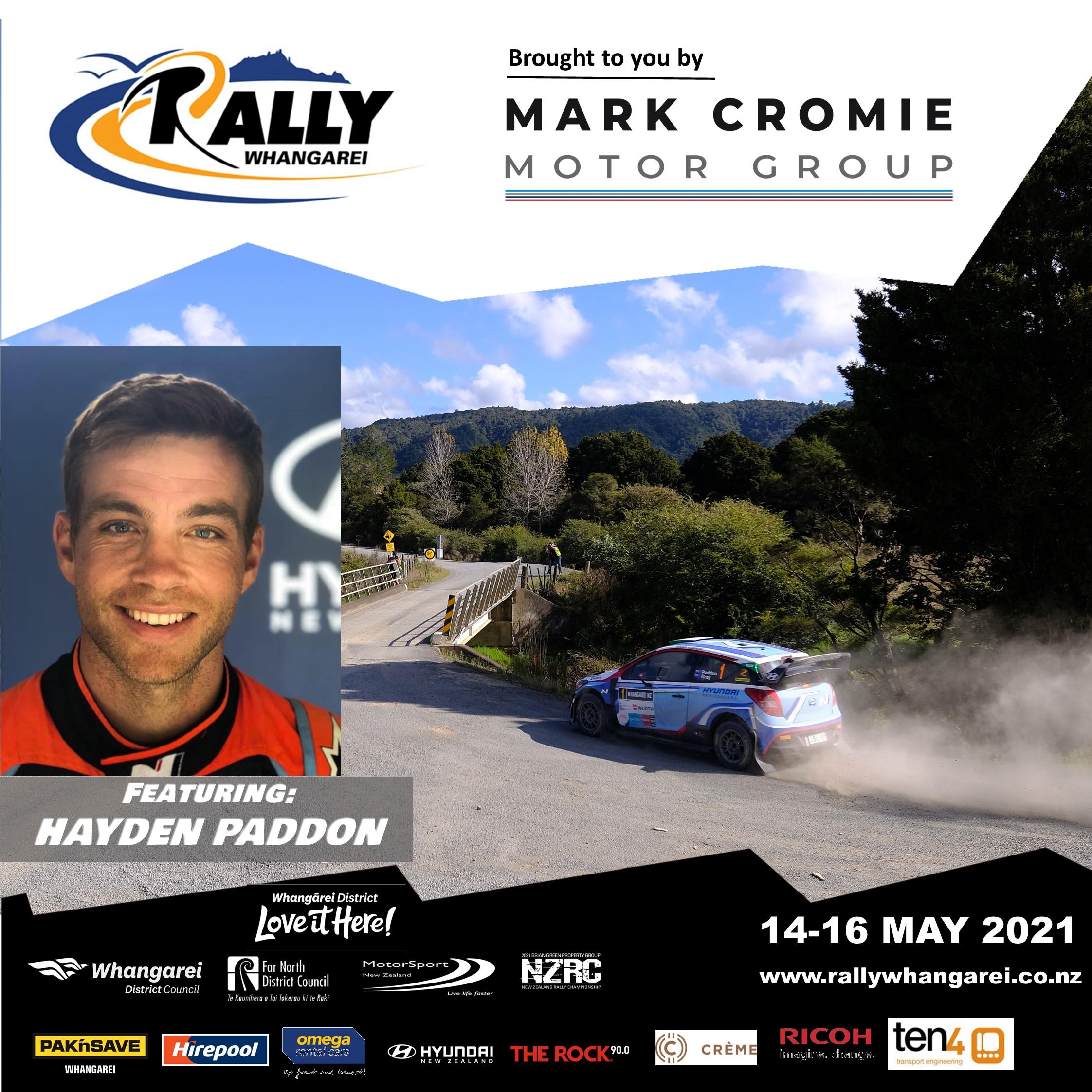 Major Driver Announcement: Hayden Paddon